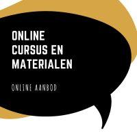 Online cursus en toegang tot alle gespreksmaterialen in de database